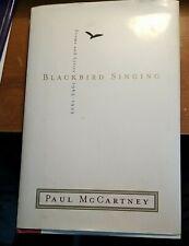 BLACKBIRD SINGING by Paul McCartney Poems Lyrics  HARDCOVER 1st American Edition