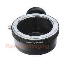 Nikon lens to Micro 4/3 Adapter with Tripod Mount  Panasonic GX2 GX7 GX8 GM1 GM5