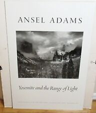 """ANSEL ADAMS """"CLEARING WINTER STORM"""" YOSEMITE VALLEY LARGE POSTER"""