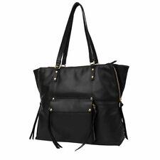 59d2a060fdc Kooba Black Genuine Leather Tote Large Women s Handbag Shoulder Purse 3349a1