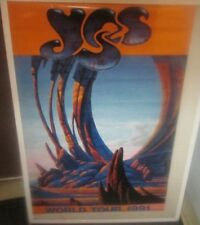 YES POSTER NEW 1991 RARE VINTAGE COLLECTIBLE OOP  ANDERSON BRUFORD  TOUR