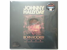 Johnny Hallyday double 33Tours vinyles Born Rocker Tour