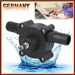 Mini Flüssigkeit Bohrpumpe Bohrmaschine Selbstansaugende Öl Wasser Transferpumpe