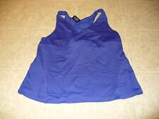 Shock Absorber Size 36C royal blue athletic cross over front top