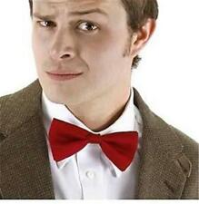 11th DOCTOR WHO BBC Licensed Red BOW TIE Costume Prop REPLICA Matt Smith COOL