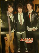 The Jonas Brothers, Two Page Centerfold Poster, Double Sided