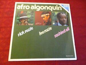 LP RICK ROZIE LEE ROZIE RASHIED ALI Afro Algonquin MOERS MUSIC 01078 GERMANY