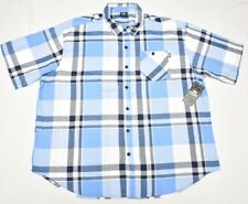 $50 NWT Mens Ecko Unltd Button Down Shirt Eclipse Plaid Oxford Woven 4XB 4X N737