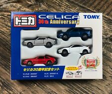 Tomica Toyota Celica 30th Anniversary Set 2000GT 2800GT 2000GT-R SS-II 1/64 Tomy