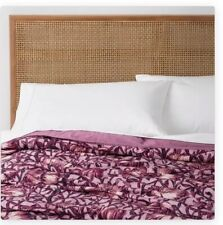 Opalhouse Love In A Mist Velvet Twin Quilt + Sham Opal House Floral New