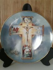 "Franklin Mint ""The Life of Christ"" Collectable Plate by Barzoni 8"" Md 9312"
