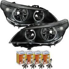 Scheinwerfer Set für BMW 5er E60 Bj. 03-03.07 H7+H7 inkl. PHILIPS Lampen FVT