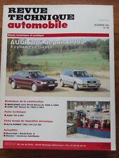 RTA Revue technique automobile #556 Audi 80 depuis 1992