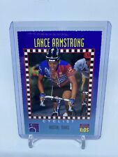 1994 Lance Armstrong SI Sports Illustrated For Kids Rookie RC Card Cycling