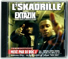 CD RAP FRANCAIS ★ L'SKADRILLE EXTAZIK MIXE PAR DJ ROC ★ NEUF SOUS CELLO