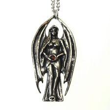 New Galraedia Lilith Dark Angel Pendant Necklace Crystal GA17