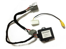 Rearview camera interface adapter for Chrysler/Dodge/Jeep with video in motion