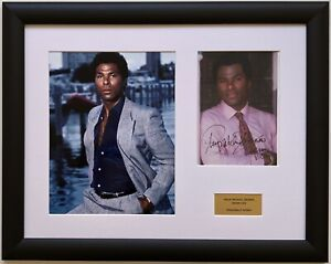 Philip Michael Thomas / Miami Vice / Signed Photo / Autograph / Framed / COA