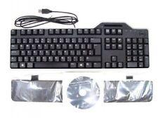 Original DELL USB Tastatur KB813 mit SmartCard SmartCard Reader, schmal, QWERTY