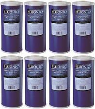 "8 pcs Big Blue GAC Granular Activated Carbon Water Filters 4.5"" x 10"" Cartridges"