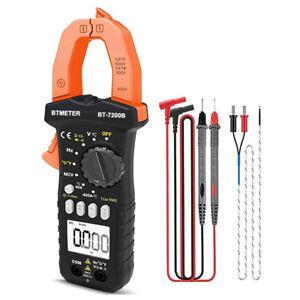 BTMETER TRMS AC DC Zangen Multimeter Zangenamperemeter Stromzange NCV