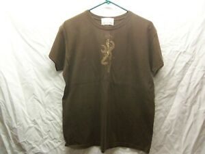 Womans Browning T-Shirt For Her  - Size L 10-14 - LN -