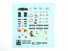 Esci 9046 Vintage Decals UH-1 First To/CAV 1:72 modeling