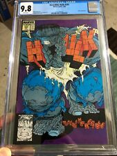 Incredible Hulk #345 CGC 9.8 WHITE Pages Todd McFarlane Marvel 1988 RARE