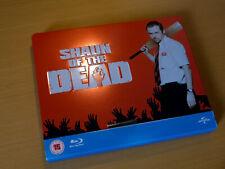 Shaun of the Dead - 100th Anniversary Play.com Steelbook [Blu-ray] embossd OOP