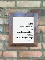 A4 Friedrich Nietzsche Quote Print Unframed Wall Art Minimalist