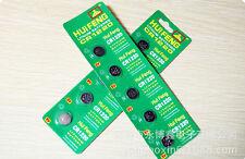 5pcs CR1220 1220 ECR1220 3V Alkaline Button Cell Coin Watch Batteries