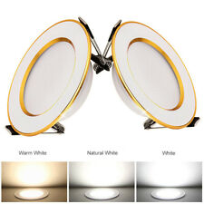 Dimmable Recessed Led Ceiling Down Light Lamp Spotlight 7W 9W 15W 18W 25W Round