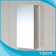 Single Door Mirror Cabinet in Stainless Steel Wall Mounted Mirror