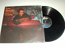 Lou Rawls ‎– Close Company - Disco 33 Giri LP Album Vinile UK 1984 Funk-Soul