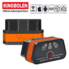 ICar2 WIFI ELM327 OBD2 Diagnostic Scanner Tool Auto Code Reader for Android IOS