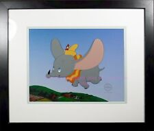 Dumbo Timothy Flying High Deluxe Edition Disney Certified cel Framed