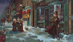 A Christmas Carol  by Dean Morrissey Open Edition Canvas