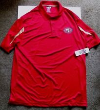 San Francisco 49ers Men's TX3 Cool Red Short Sleeve Polo Shirt
