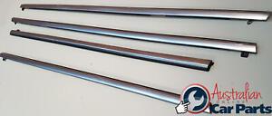 Chrome Door Window Belt Mould Set Genuine suits Holden Caprice WM WN Statesman