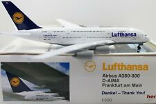 Herpa Wings 1:500 Lufthansa Airbus A380-800 Danke Thank You (516242) Limited
