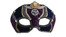 Venezianische Augenmaske-Maya Lulu-Steampunk-Theater-Maskenball-Zoelibat-neu