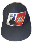 United States Coast Guard 200 Years Of Service  Vintage Snapback  Military Hat