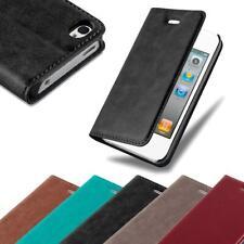 Handy Hülle für Apple iPhone 4 / iPhone 4S Cover Case Tasche Etui mit Kartenfach