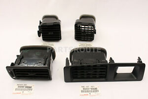 Toyota Land Cruiser Lexus LX450 FZJ80 OEM Air Vents Register Assy 1996-97 SET