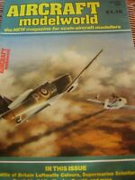 MODEL AIRCRAFT MODELWORLD OCTOBER 1985 BATTLE OF BRITAIN LUFTWAFFE COLOURS
