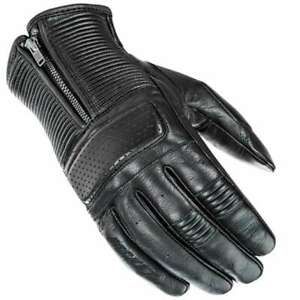 Joe Rocket Cafe Racer Motorcycle Gloves Black Mens All Sizes