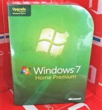 Microsoft Windows 7 Home Premium 32 & 64 Bit DVD Upgrade 100% Genuine Retail