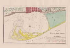 1815 Sought After Bouchette Map of York Harbour (Toronto)