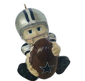 Dallas Cowboys Memorabilia NFL Football Vtg Metal Christmas Ornament holiday NFC