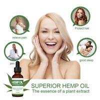 30 ml Hemp Oil For Pain Relief Anxiety Sleep Anti Inflammatory Extract Drops CA